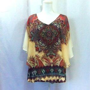 Dress Barn Tops - Dress Barn  Mandala Shirt Size 2X